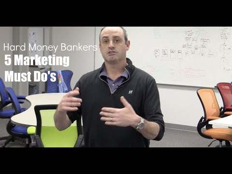 5 Marketing Must Do's